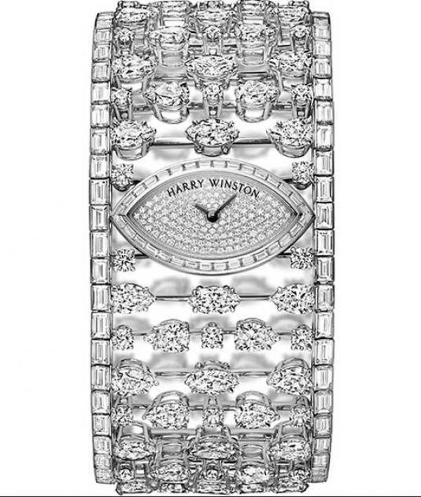 Harry Winston : Mrs. Winston High Jewelry Timepiece