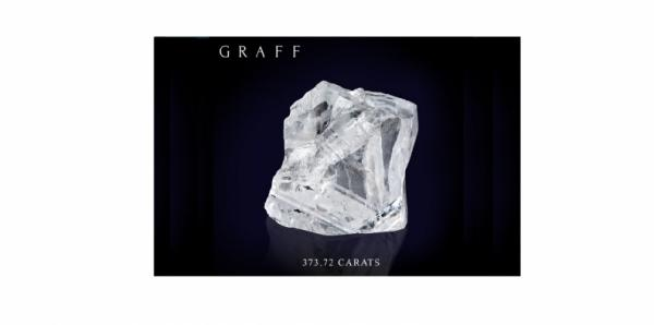 BREAKING NEWS : LAURENCE GRAFF ANNONCE AVOIR ACQUIS 373.72 CARATS DU LESEDI LA RONA…… A BEAUTY OF THE ROUGH