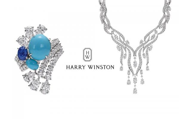 Harry Winston présente sa collection Water
